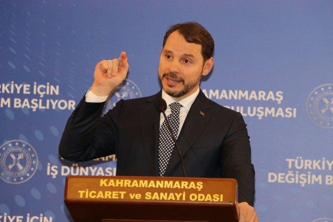"""Bakan Albayrak: Kahramanmaraş'ta konuştu: """"Kamu bankalarında faizi yüzde 8-10 bandına çekeceğiz"""""""