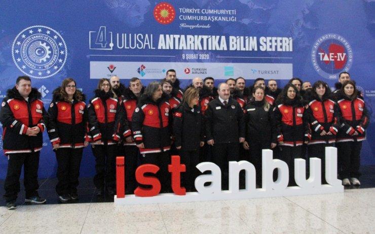 4. Ulusal Antarktika Bilim Seferi heyeti yola çıktı