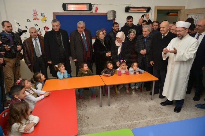 Başkan Erbaş Pazarcık'ta yurt açılışına katıldı