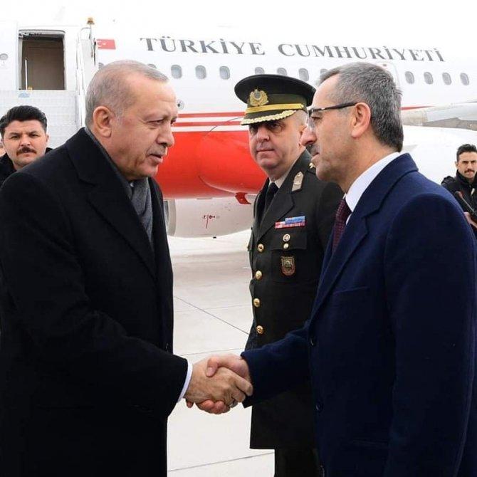 Cumhurbaşkanı Erdoğan Kahramanmaraş'ta coşkuyla karşılandı