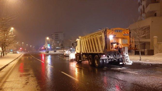 Kahramanmaraş'ta Kar kazaları da beraberinde getirdi