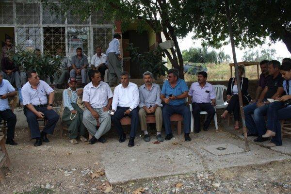 Chp mersin il yönetimi köy gezilerini sürdürüyor