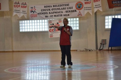MENDİL KAPMACA'DA SOMA'NIN HEDEFİ  TÜRKİYE ŞAMPİYONLUĞU