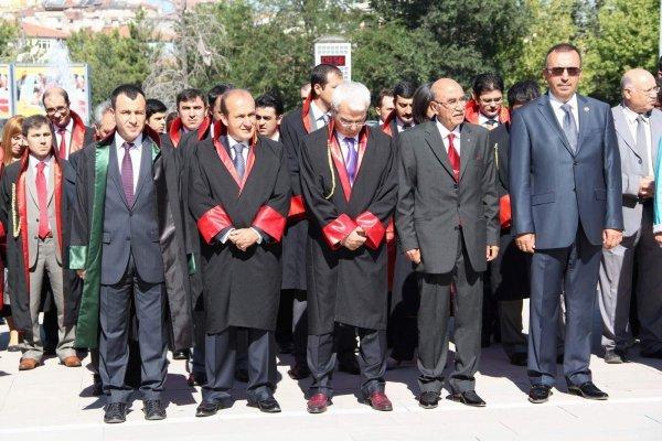 Nevşehir de adli yil açiliş töreni