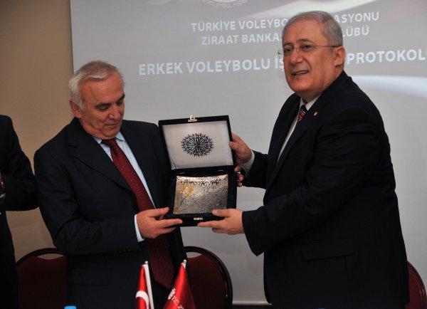 TVF İLE ZİRAAT BANKASI SPOR KULÜBÜ ARASINDA