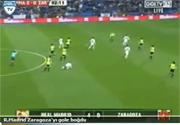 R.Madrid Zaragozayı gole boğdu