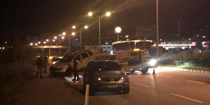 Alkollü sürücü dehşeti: 1 polis şehit, 1 polis yaralı